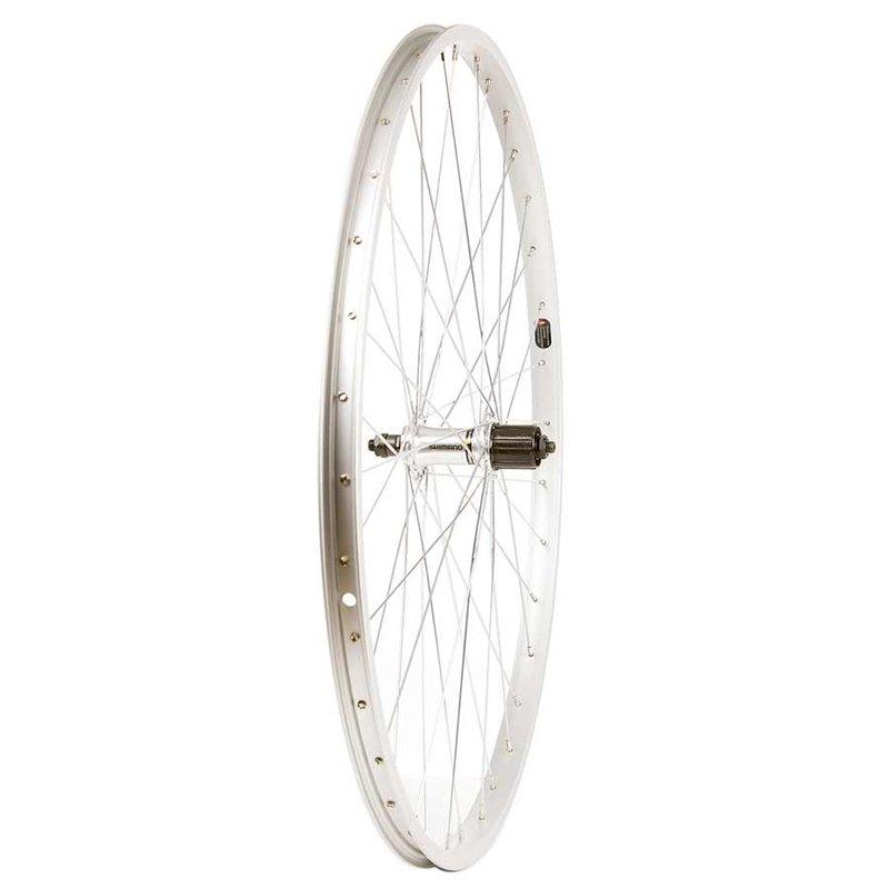 Wheel Shop Wheel Shop, Alex C303 Silver/ Shimano FH-RM30-7, Wheel, Rear, 27'' / 630, Holes: 36, QR, 135mm, Rim, Shimano 7 speed