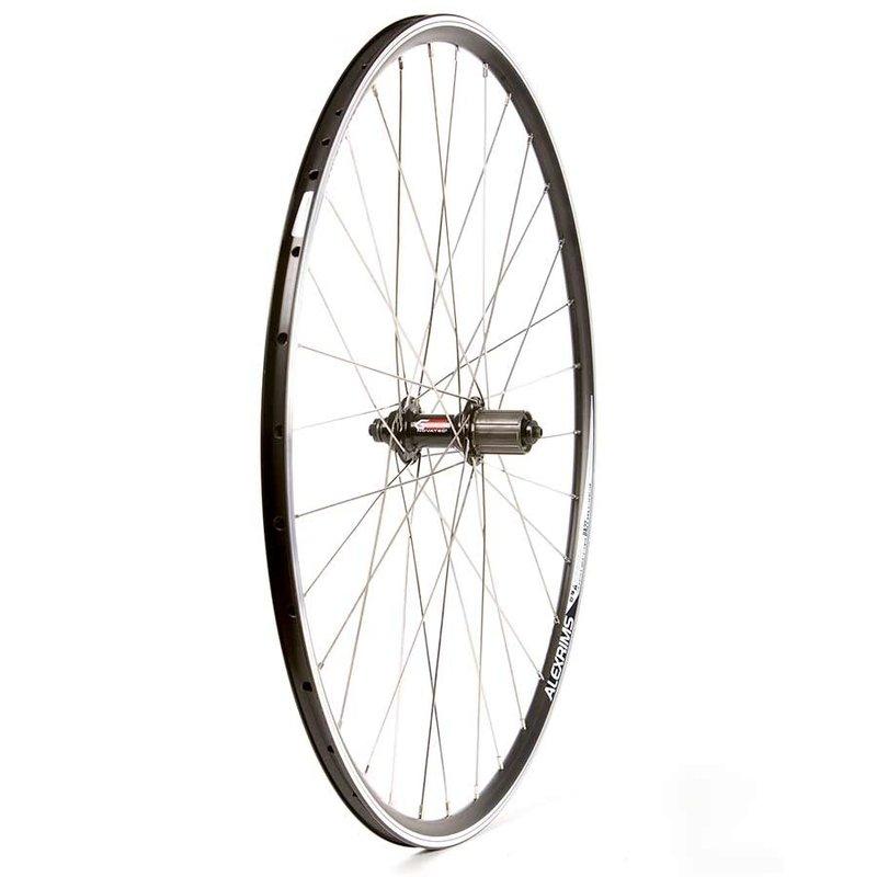Wheel Shop Wheel Shop, Alex DA22 Black/ Novatec F362TSBT-11, Wheel, Rear, 700C / 622, Holes: 32, QR, 130mm, Rim, Shimano HG 11