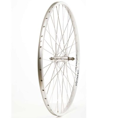 Wheel Shop Wheel Shop, Alex DM18 Silver/ Formula FM-31-QR, Wheel, Rear, 700C / 622, Holes: 36, QR, 135mm, Rim, Freewheel