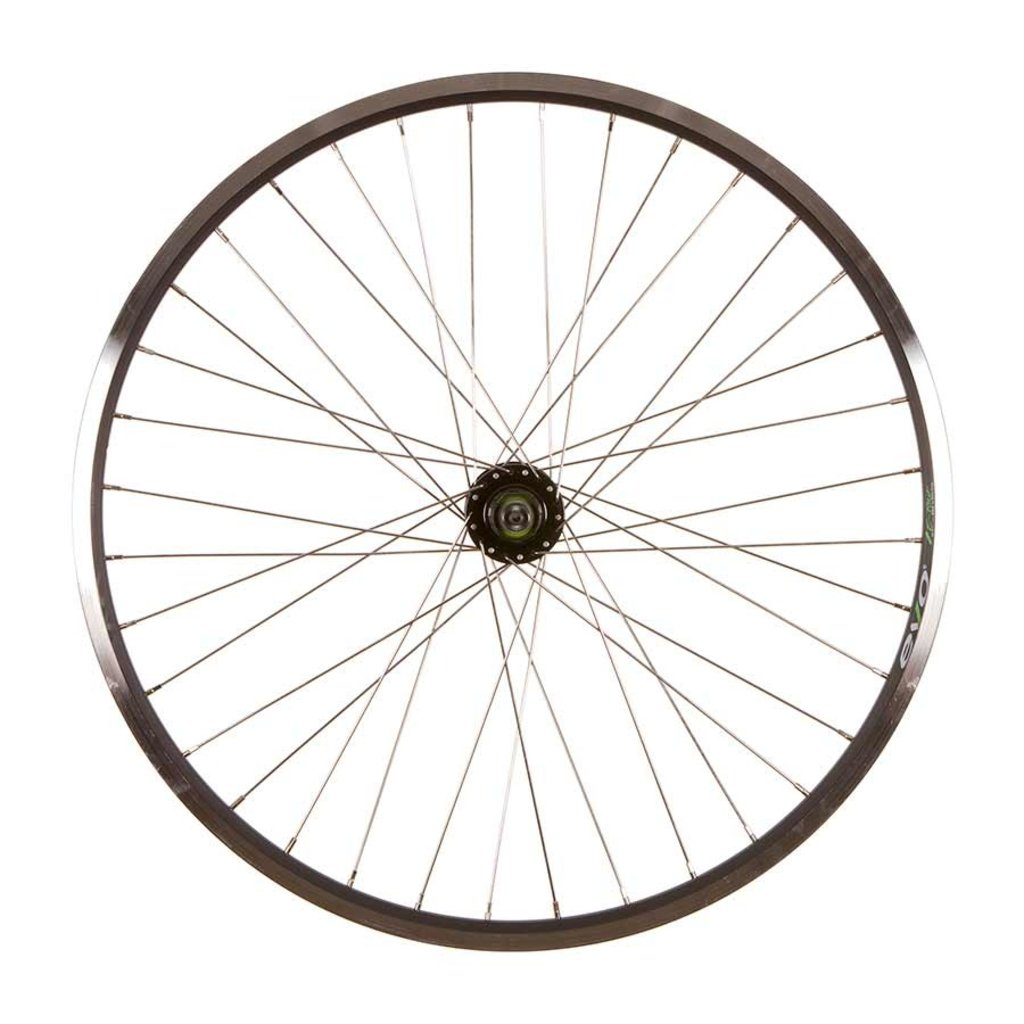 Wheel Shop Wheel Shop, Evo Tour 19 Black/ Formula DC-22, Wheel, Rear, 27.5'' / 584, Holes: 36, QR, 135mm, Rim and Disc IS 6-bolt, Shimano HG