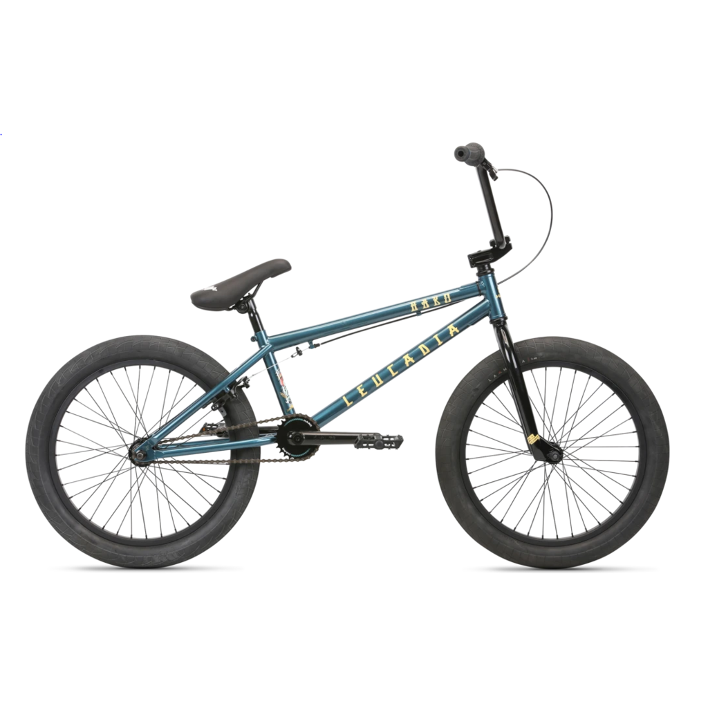 "HARO Haro Leucadia 20"" Wheels 20.5"" Reach BMX Turquoise"