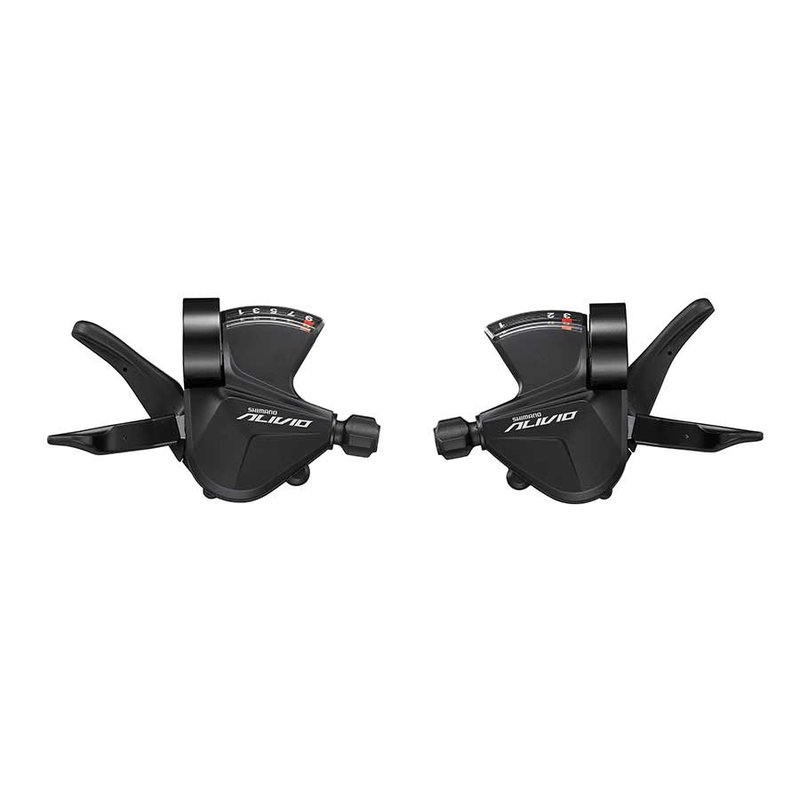 Shimano Shimano, Alivio SL-M3100, Trigger Shifter, Speed: 3x9, Black, Set