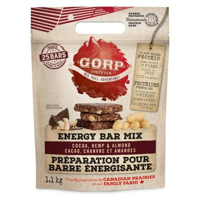 GORP Cocao Hemp & Almond, Energy Bar Mix