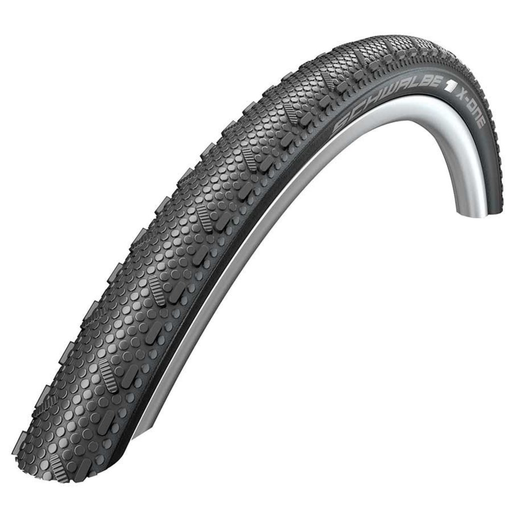 Schwalbe Schwalbe, X-One Speed, Tire, 700x33C, Folding, Clincher, Dual, RaceGuard, 67TPI, Black
