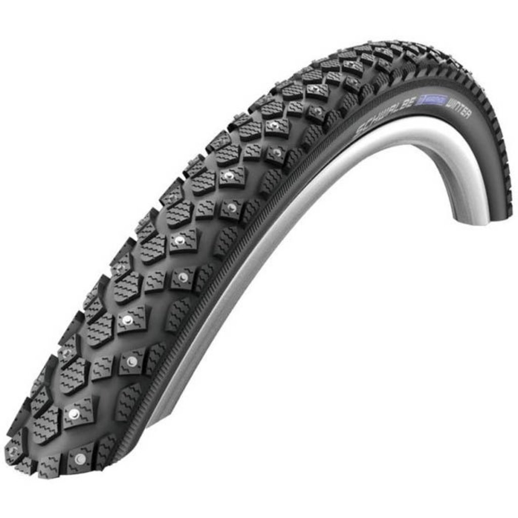 Marathon Winter Plus, Studded Bike Tire, 26''x2.00