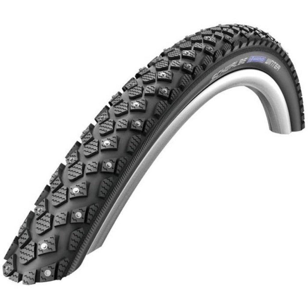 Schwalbe, Marathon Winter Plus, Tire, 26''x2.00, Wire, Clincher, Winter, SmartGuard, 67TPI, Black