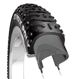ULTRACYCLE CS TIRE,26X4.8,ROLY POLY C1936,WIRE,SC