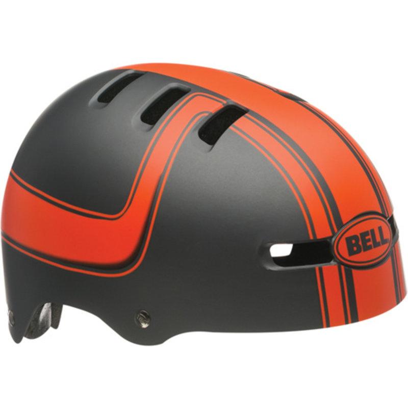 Bell Helmet - Casques FRACTION Titanium/Orange Boss 302 XS