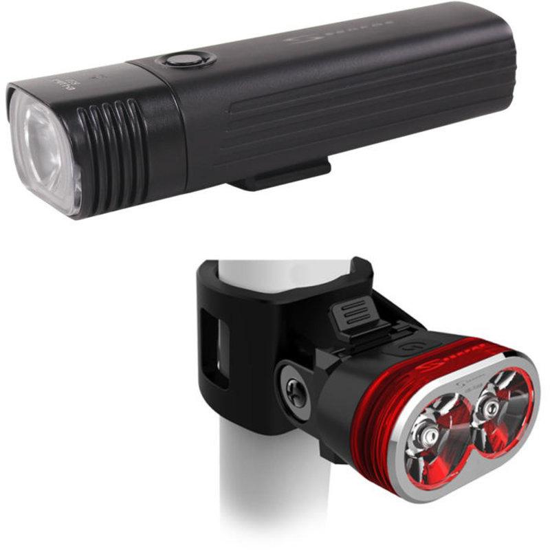 SERFAS Serfas - E-Lume 650L Front 60L Back USB combo