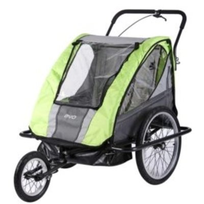 EVO EVO, E-Tec 2-Up AT Suspension, Trailer/ Jogger
