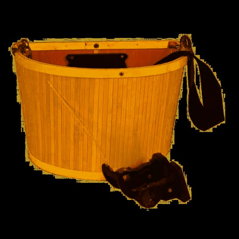 EVO E-Cargo Bamboo, Front basket