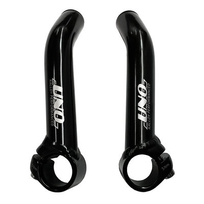 TRANZ-X TRANZ-X - SHORT ALLOY HANDLEBAR - BLACK bar end