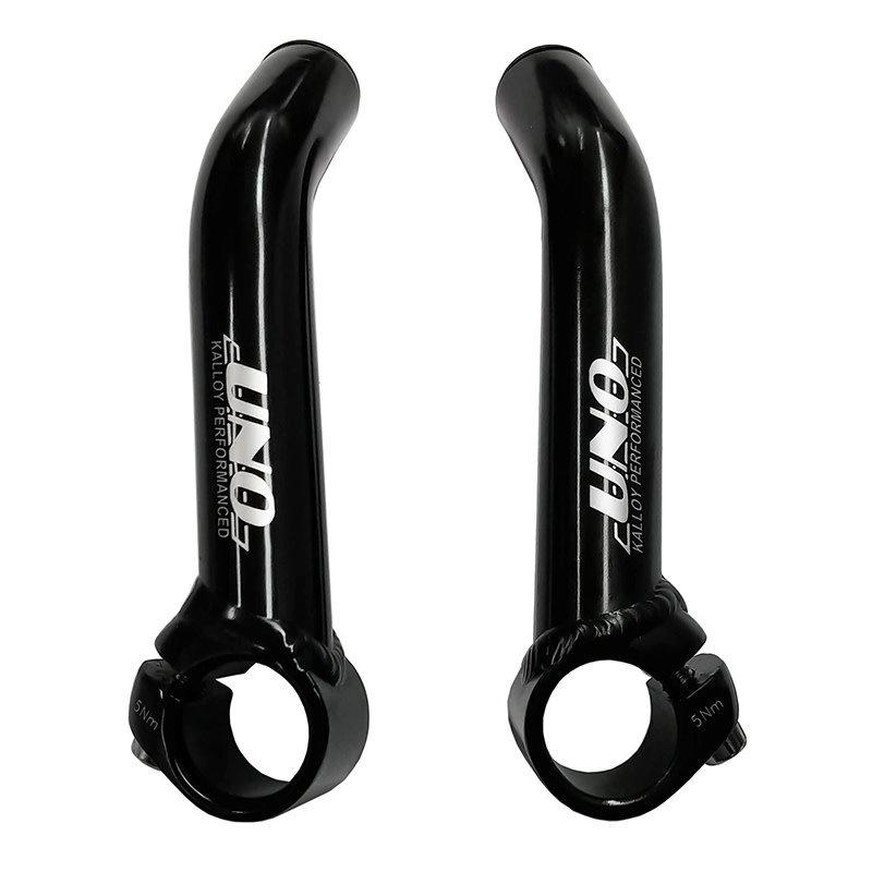 TRANZ-X TRANZ-X - SHORT ALLOY HANDLEBAR - BLACK bar end