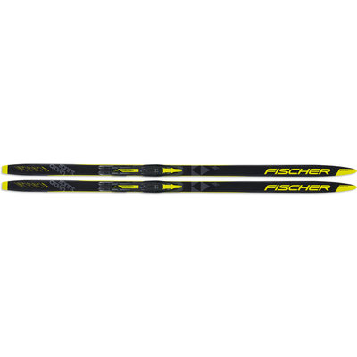 Fischer Waxless Cross Country Skis, Sprint Crown Jr, Fischer