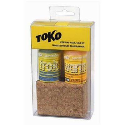 Toko Sportline warm/cold grip wax kit