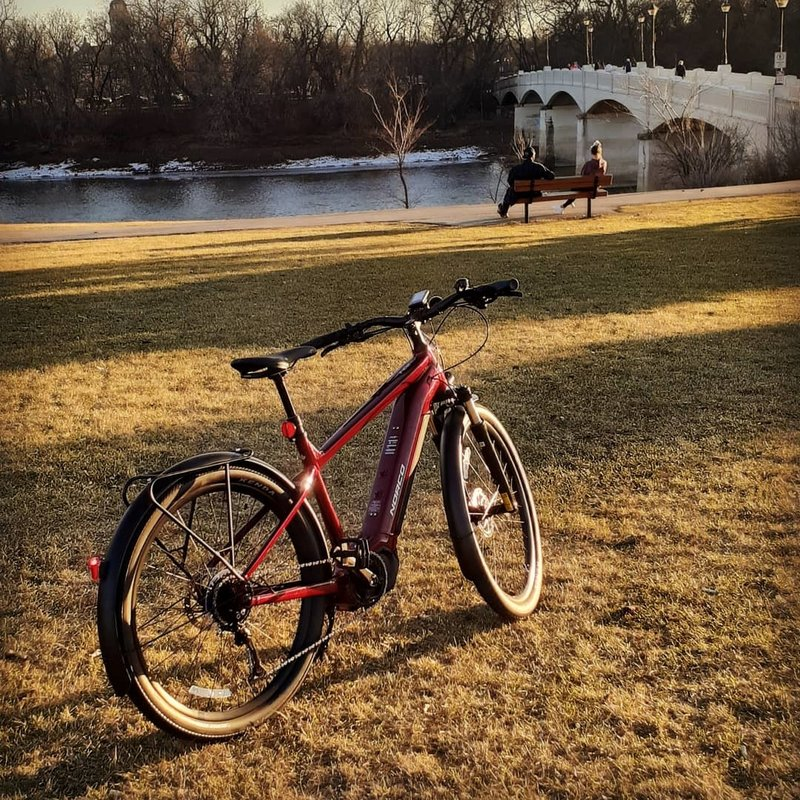 Norco Indie VLT Electric Bike, 2021 Red
