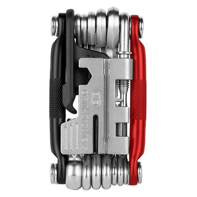CRANK BROTHERS Crank Brothers M20 Multi tool, Black/Red