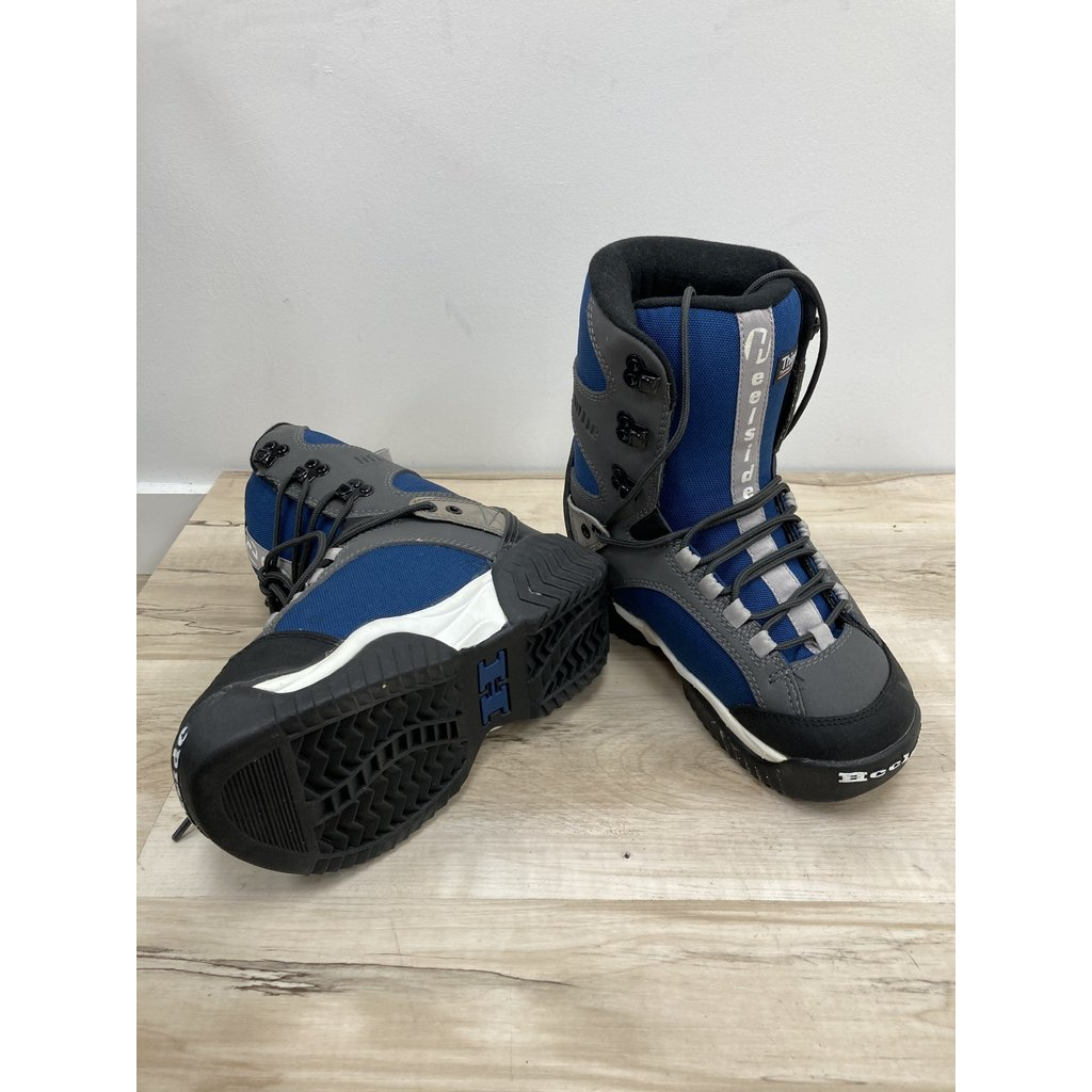 Used Snowboard Boots HeelSide Blue (Old Rental Stock)