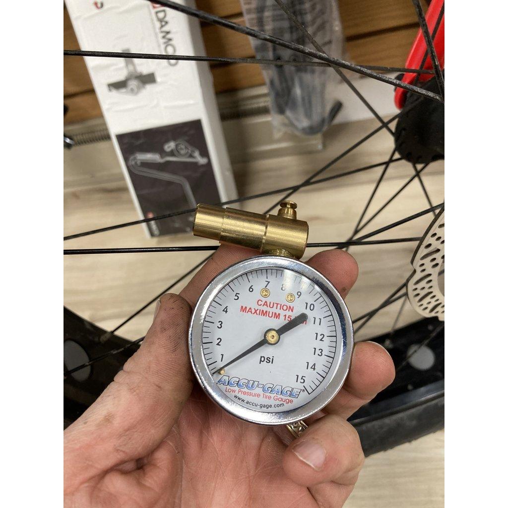 Accugauge  Accugauge Presta valve 15 psi Gauge