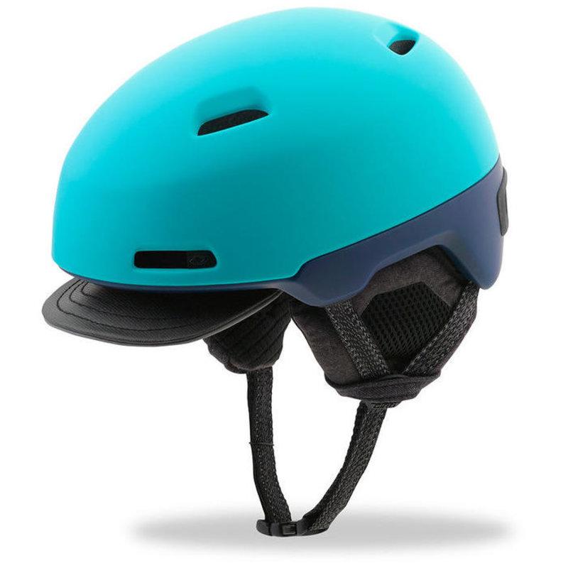 Giro Giro Shackleton, Blue, Winter Bike Helmet