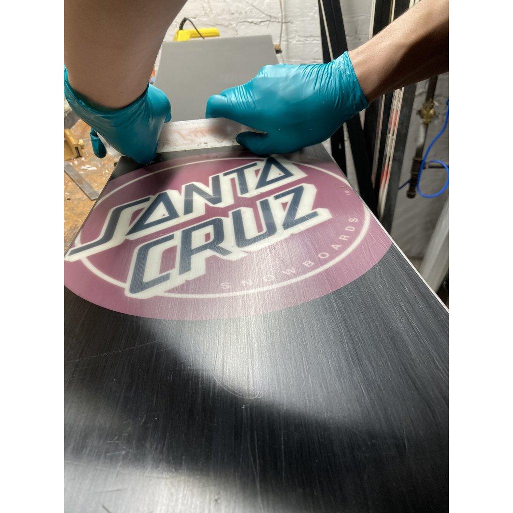 Snowboard Wax (hand iron) Plus Edges
