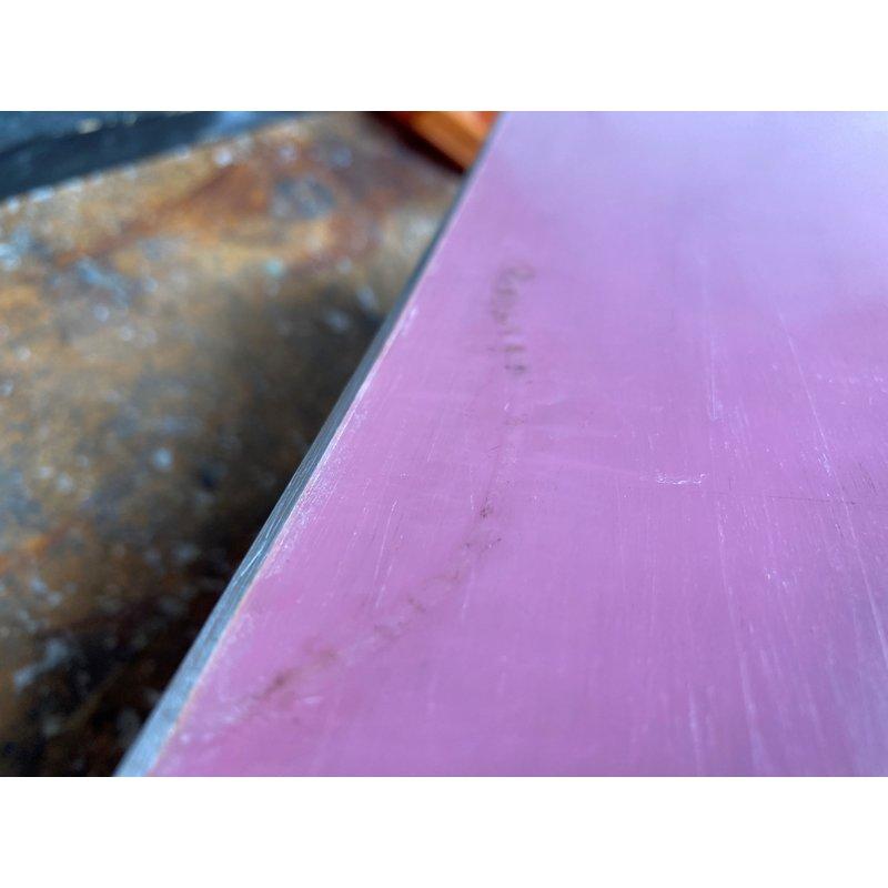 Snowboard Minor base repair (P-TEX)