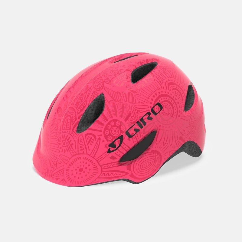 Giro Scamp, Pink Kids Bike Helmet