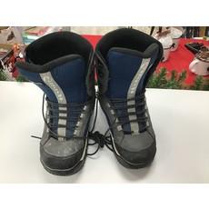 Used Snowboard Boots HeelSide Blue (Old Rental Stock) 9