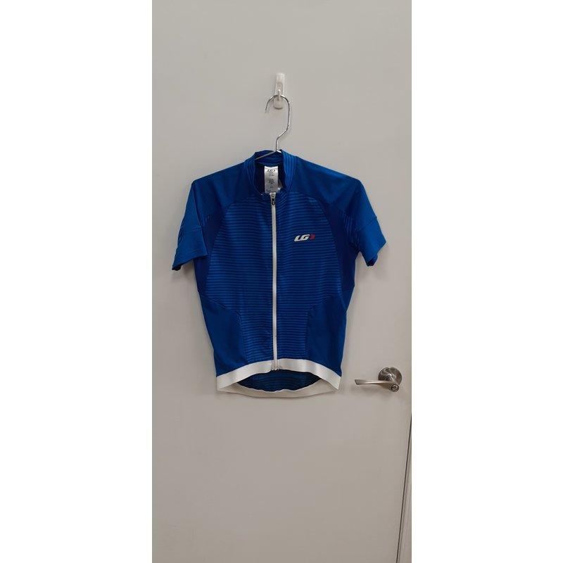 Louis Garneau Garneau, blue cycling jersey s