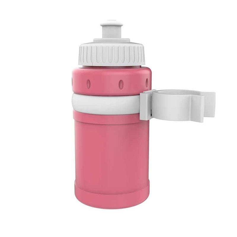EVO EVO, Kidster Bottle combo, Bottle and bottle cage kit, Pink/White
