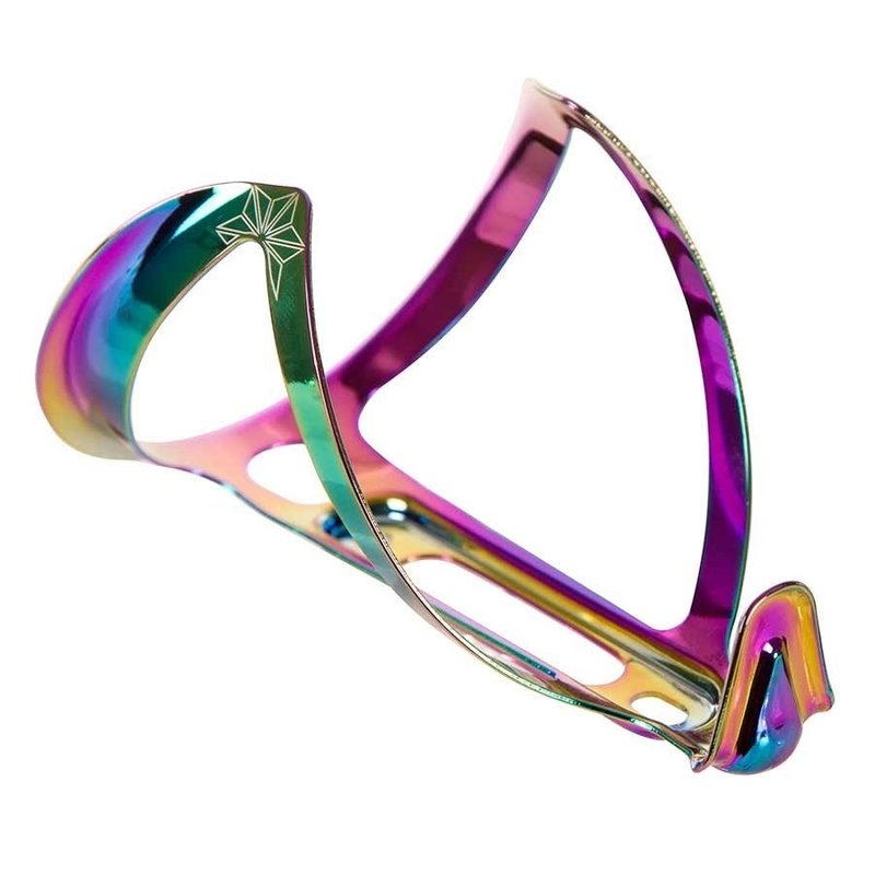 Supacaz Supacaz, Fly Cage Ano, Bottle Cage, Aluminum, Oil Slick, 18g