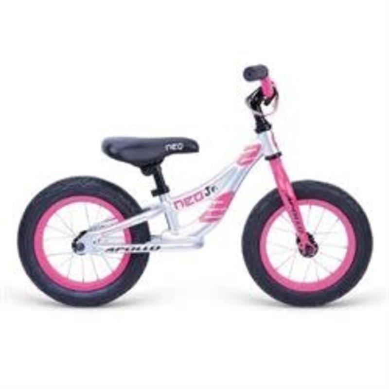 """RADIUS/NEO RADIUS NEO JR. Pink/Silver 12"""" Runbike"""