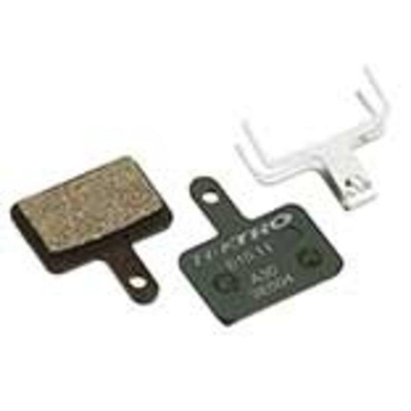 Tektro Tektro, E10.11, disc brake pads, Orion, Auriga Pro, Auriga Comp, Auriga E-Comp, E-Sub E520, Draco, Aquila / TRP Spyre, Spyke, Parabox 2012 / Shimano M525