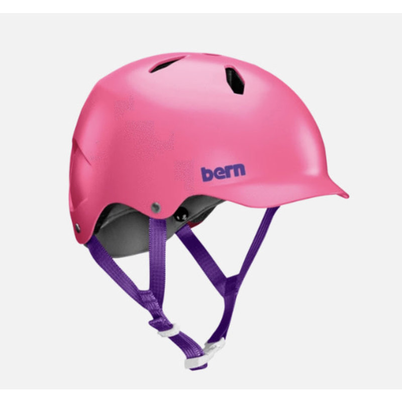 Bern Bern, Bandito, Helmet, Satin Pink, ML, 54.5 - 57cm