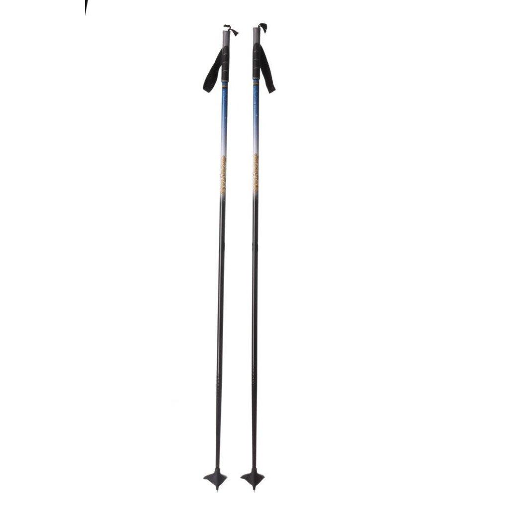 STC STC ski poles, 100% fiberglass, Children