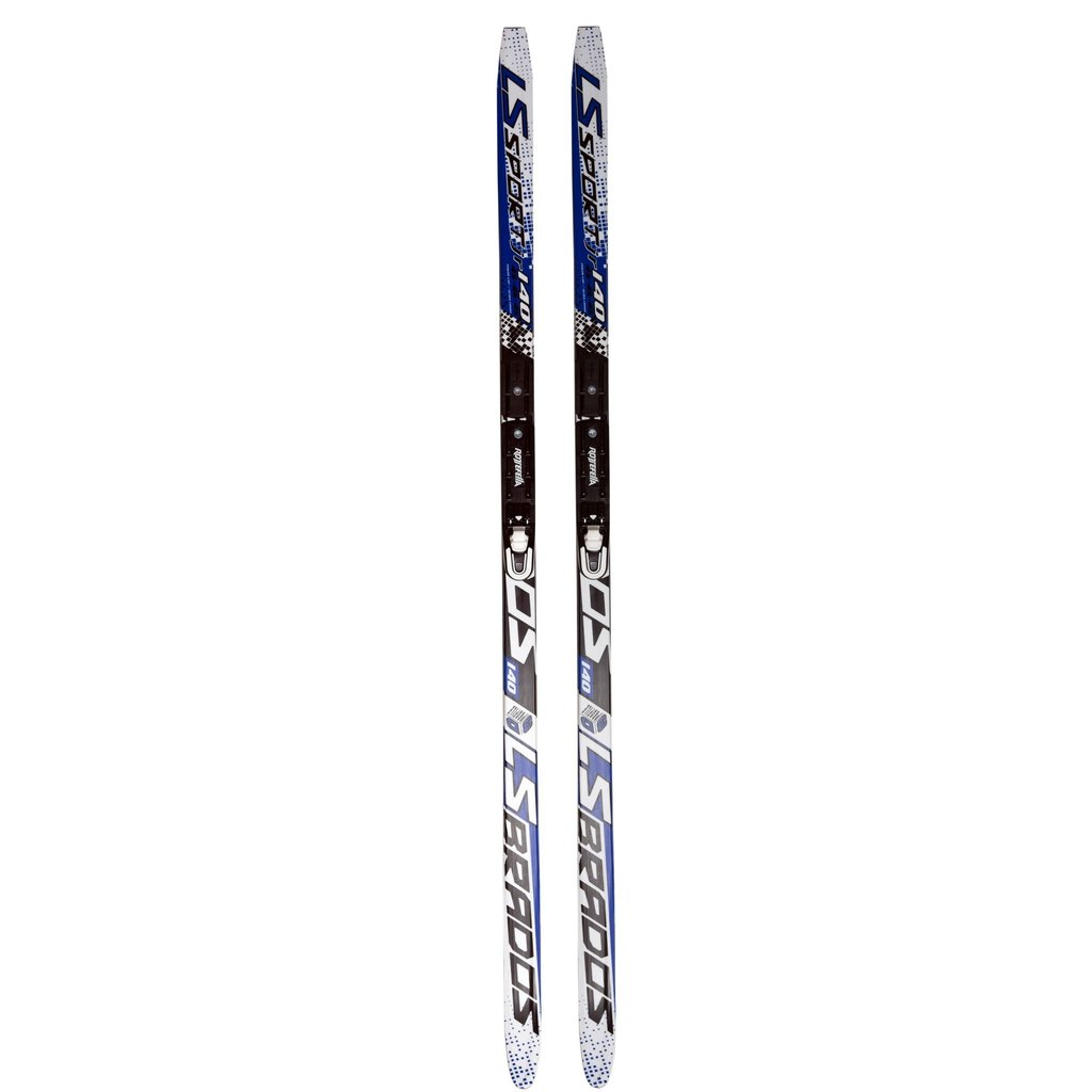 STC STC Nordic Waxless ski with binding (Adult)