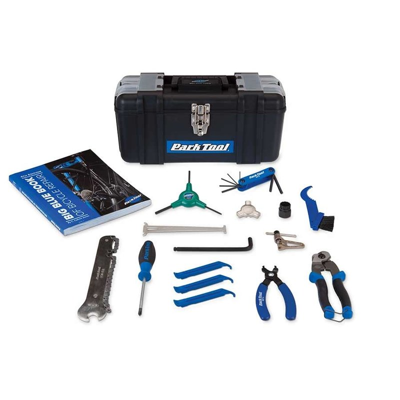 PARK TOOL Park Tool, SK-4, Home Mechanic Starter Kit, 15 tools