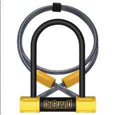 ONGUARD OnGuard, Bulldog Mini DT 8015, U-Lock, 13mm x 90mm x 140mm / 10mm x 120cm (13mm x 3.5'' x 5.5'' / 10mm x 4')