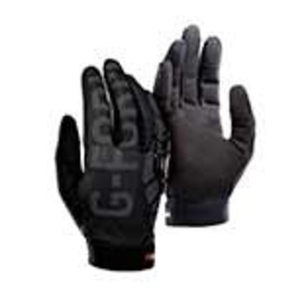 G-Form G-Form, Sorata Trail, Full Finger Gloves, Unisex, Black/Black/Grey
