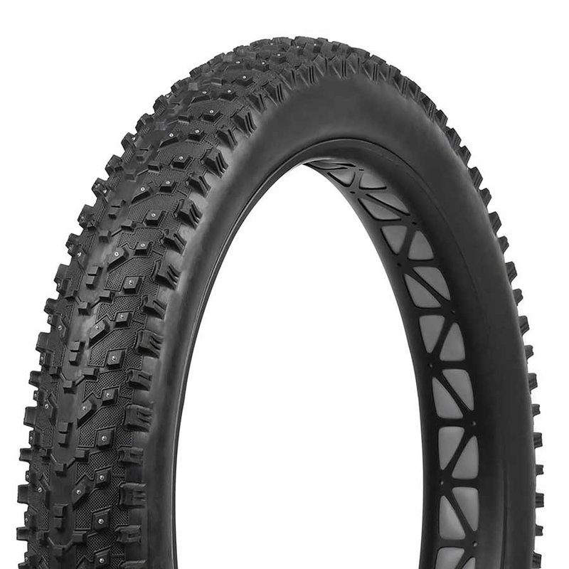 Vee Rubber Vee Rubber, Snow Avalanche Studded, Tire, 27.5''x4.50, Folding, Tubeless Ready, Silica, 120TPI, Black