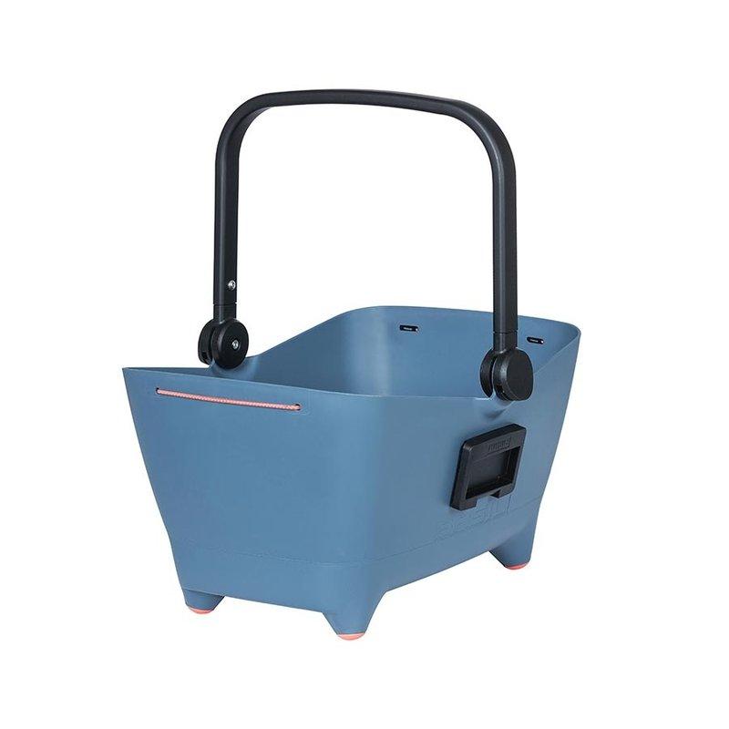 Basil Basil, Buddy, Basket, Front, 48x37x28 cm, Blue