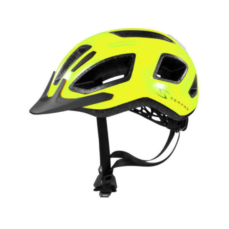 SERFAS Serfas Helmet METRO GLOSS HI VIS YELLOW L/XL