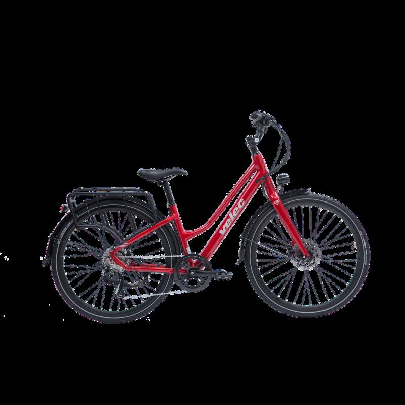 VELEC Velec Citi Plus - Step thru Red - Small/Medium