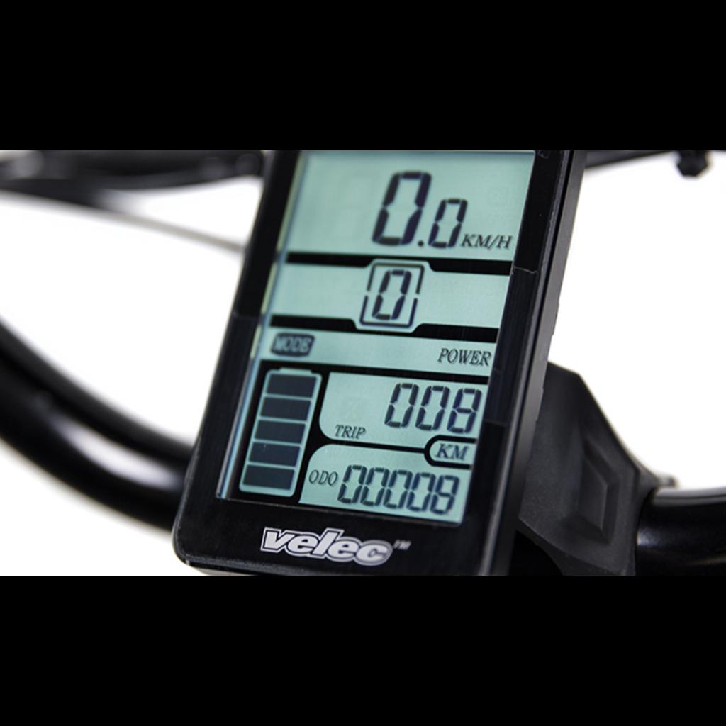 VELEC VELEC Citi+ 36V/7Ah - Front battery - Titanium - Small/Medium