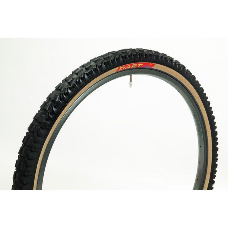 PANARACER Panaracer Dart, Front bike tire  26x2.1K, Tan wall