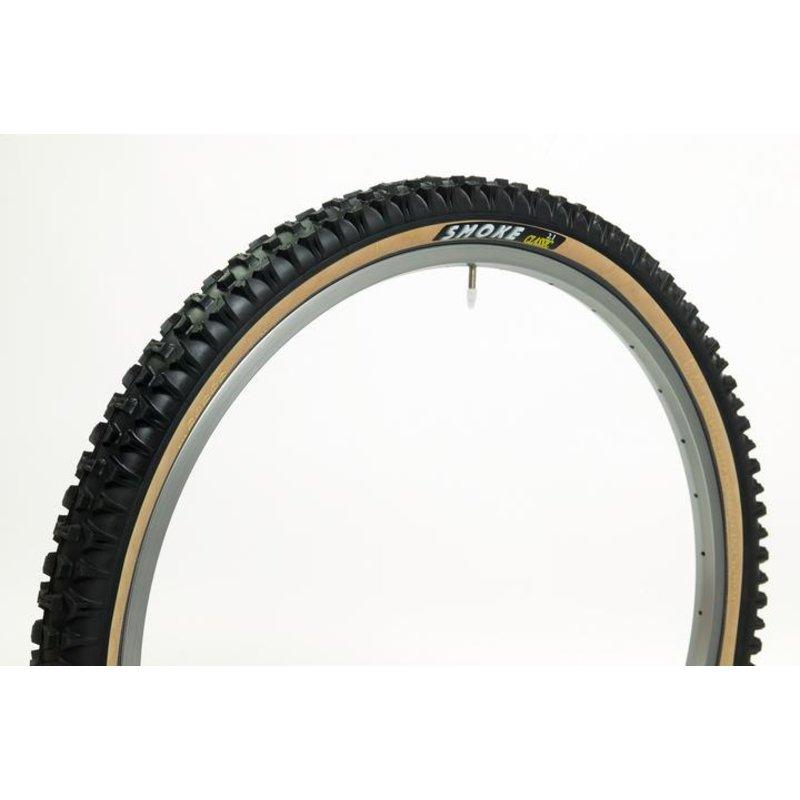 PANARACER Panaracer Smoke, Rear bike tire  26x2.1K, Tan wall