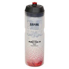 ZEFAL Zefal, Arctica 75, Insulated bottle, 750ml / 25oz, Silver-Red