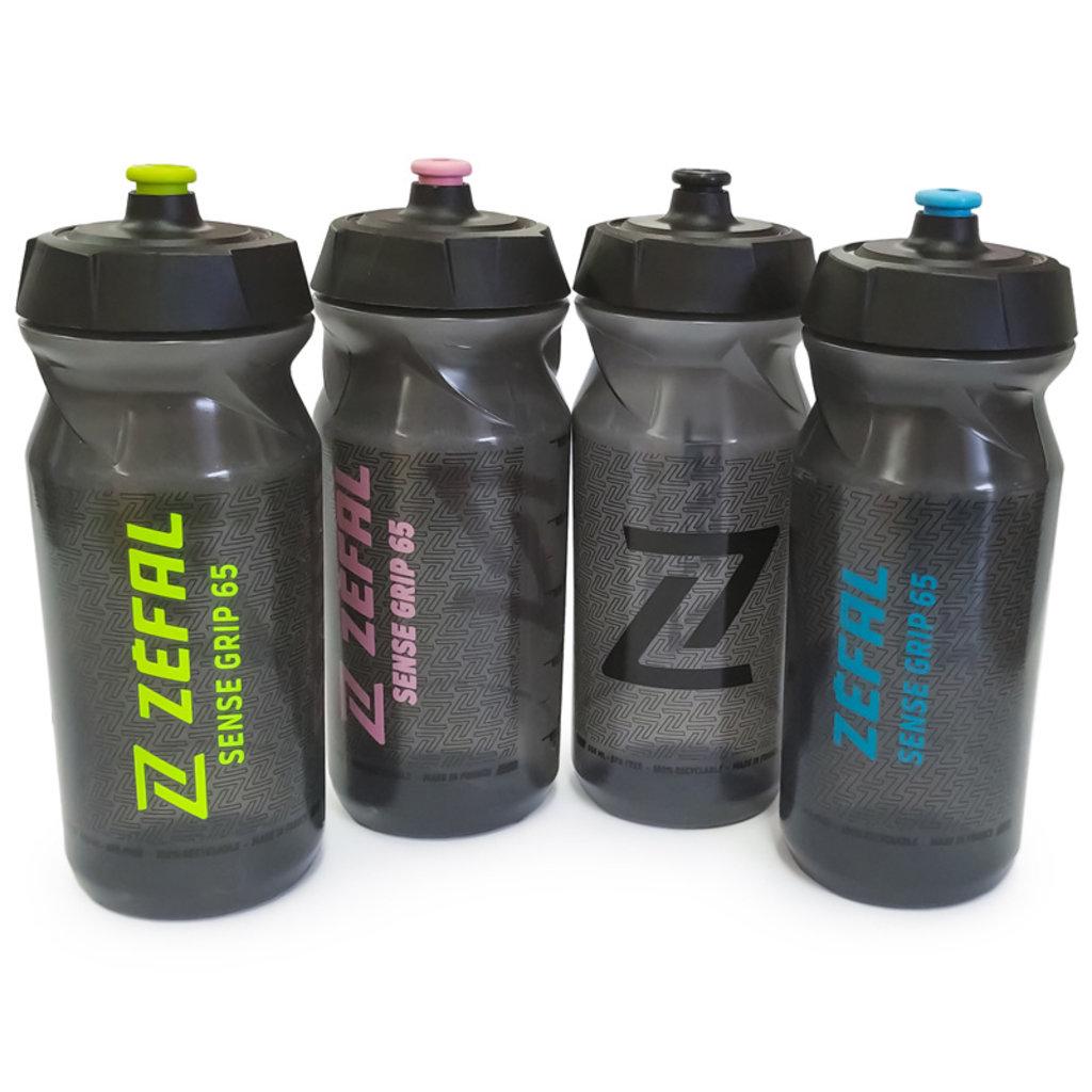 ZEFAL Sense Grip 65 Blk/Yellow Water bottle