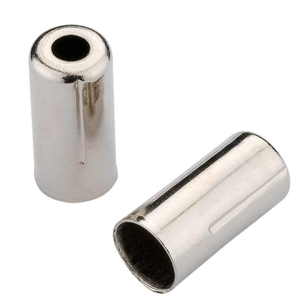 Jagwire Jagwire, Housing stops for brake housing, 5mm, Brass, Silver