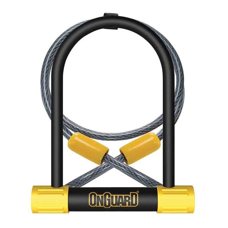 ONGUARD OnGuard, Bulldog DT 8012, U-Lock, 13 mm x 115mm x 230mm / 10mm x 120cm (13mm x 4.5'' x 9'' / 10mm x 4')
